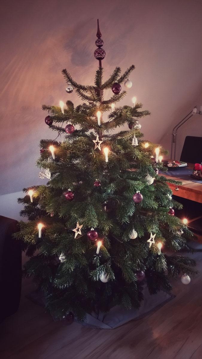 Wann Wurde Der Geschmückte Weihnachtsbaum Populär.Weihnachtsbäume In Hamburg Nordische Gemütlichkeit Auf Dem