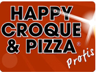 Happy Croque und Pizza
