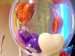 Candy and Balloon Dekorationen