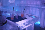 Cocktails und Drinks in der Icebar Hamburg