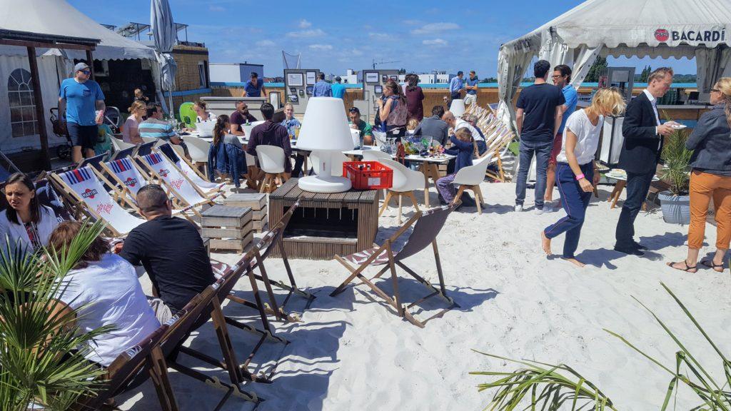 Sky and Sand Beachclub Hamburg