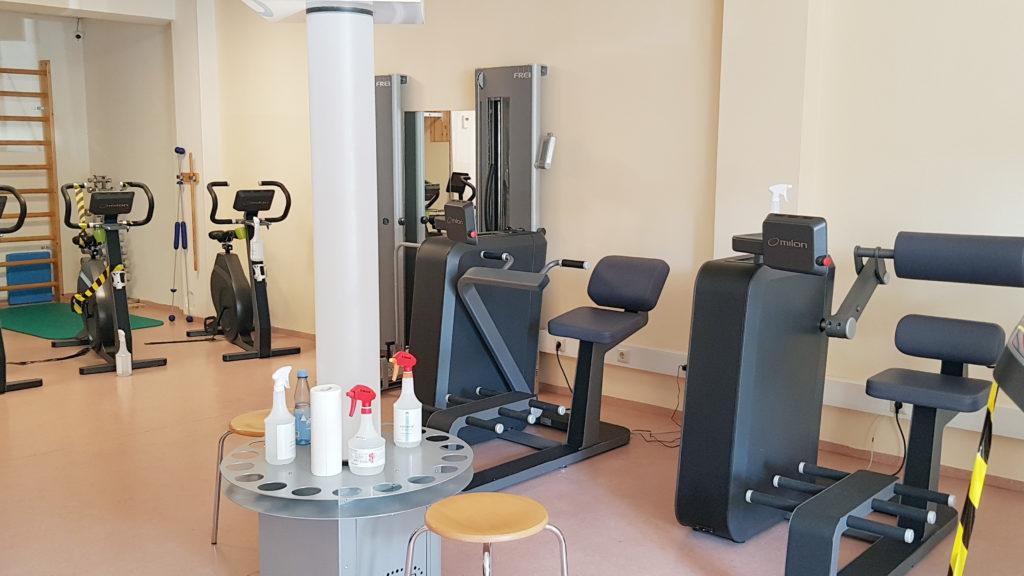 Physiotherapie Glinde: Moderne Geräte für wirksames Training