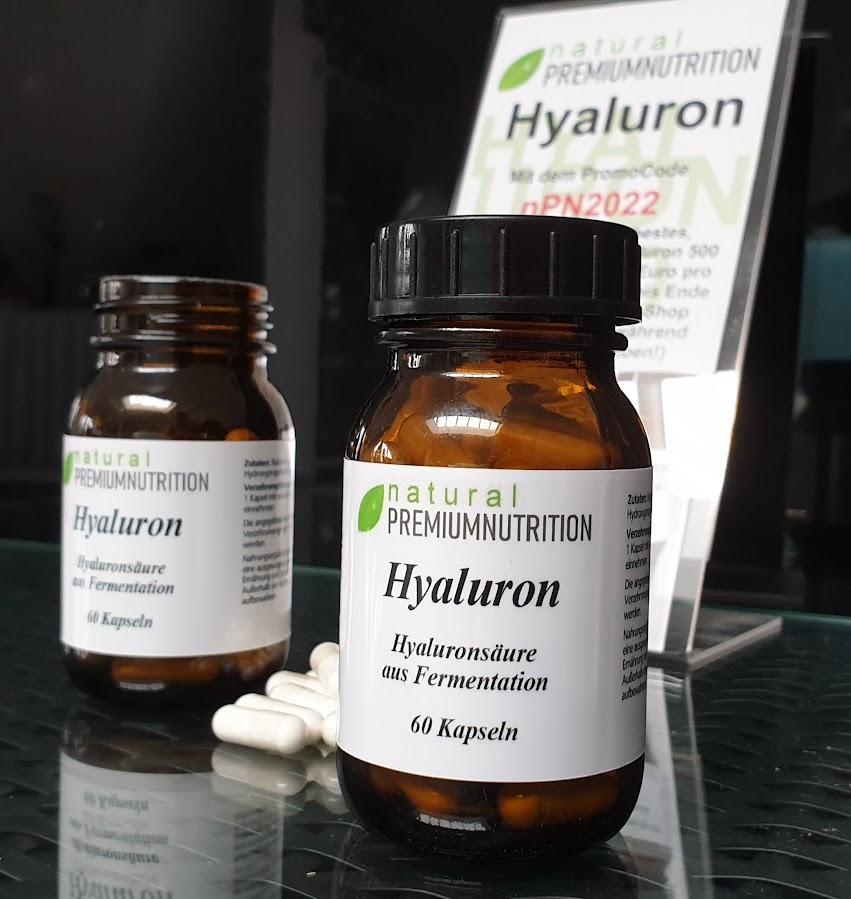 vegane Hyaluronsäure aus Mais Fermentation