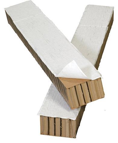 Formschlüssige Ladungssicherung mit Wabenplatten